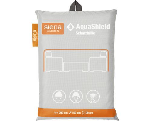 AquaShield Sitzgruppenhülle Siena Garden 200 x 150 x H100 cm grau