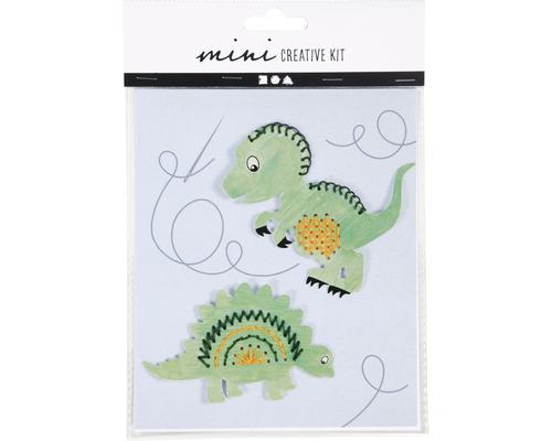 Mini-Kreativ-Set 2 versch. Dinosaurier