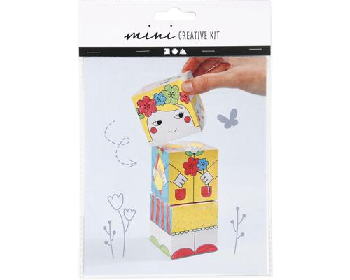 Mini Kreativ-Set aus Karton Prinzessin