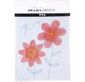 Mini-Kreativ-Set 2 verschiedene Blumen