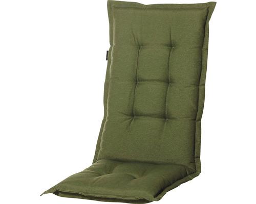 Auflage Hochlehner Panama Baumwolle-Polyester 120 x 46 cm grau, grün