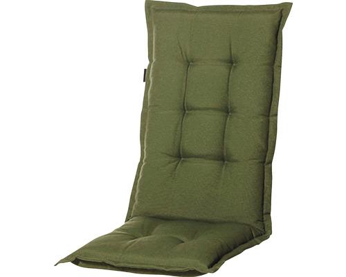 Auflage Niedriglehner Panama Baumwolle-Polyester 105 x 50 cm grau, grün