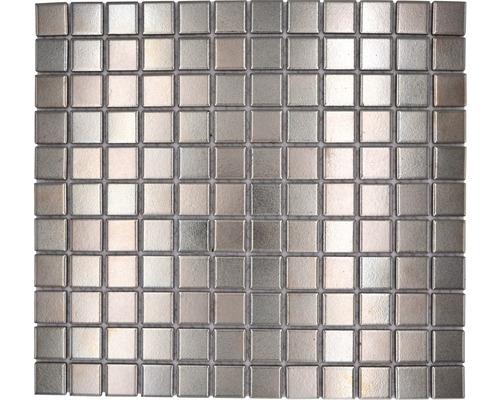 Keramikmosaik Silver 32x33 cm