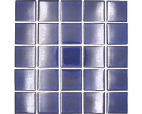 Keramikmosaik SD 651 blau 30,4x30,4 cm
