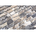 Natursteinmosaik MOS BRICK 476 30,5x32,2 cm braun