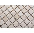 Natursteinmosaik MOS 15/13R 30,5x30,5 cm beige