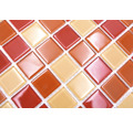 Crystal-Glasmosaik CM 4005 30,2x32,7 cm orange/rot