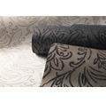 Vliestapete 87124-HOR Pure & Noble IV Flock Leila Charcoal