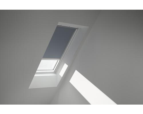 Velux Verdunkelungsrollo solarbetrieben blaugrau uni DSL SK10 4581SWL