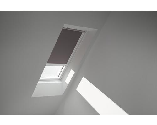 Velux Verdunkelungsrollo solarbetrieben taupe uni DSL FK08 4577SWL