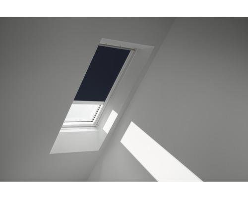 Velux Verdunkelungsrollo solarbetrieben dunkelblau uni DSL MK08 1100SWL