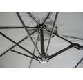 Sonnenschirm SenS-Line Marbella H 270 cm anthrazit mit Handkurbel