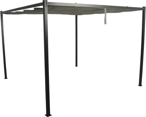 Pavillon SenS-Line Athene Pergola 300 x 300 cm Polyester, Metall anthrazit