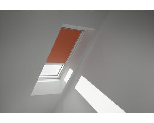 Velux Verdunkelungsrollo elektrisch orange uni DML C02 4564SWL
