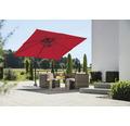 Rhodos Junior Schneider Sonnenschirm Gartenschirm 270 x 270 cm rot