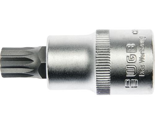 """1/2"""" Steckschlüssel-Einsatz Vielzahn XZN WGB, M12x55 mm"""