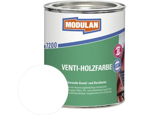 Modulan Venti-Holzfarbe weiß 750 ml