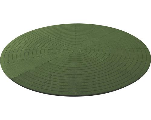 Poolunterlage rund Terrasoft ø 380 cm Kautschuk grün