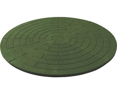 Poolunterlage rund Terrasoft rund ø 180 cm Kautschuk grün
