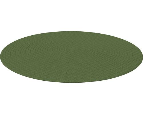 Poolunterlage rund Terrasoft ø 5800 mm Kautschuk grün