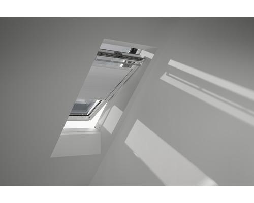 Velux Wabenplissee-Faltstore elektrisch weiß uni FMC U04 1045SWL