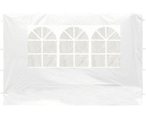 Seitenteil Set für Pavillon 300 x 300 cm weiß besteht aus 2 Seitenteilen je ca. 290 x 195 cm