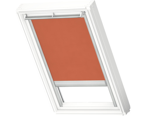 Velux Tageslichtrollo solarbetrieben orange uni RSL F06 4164S