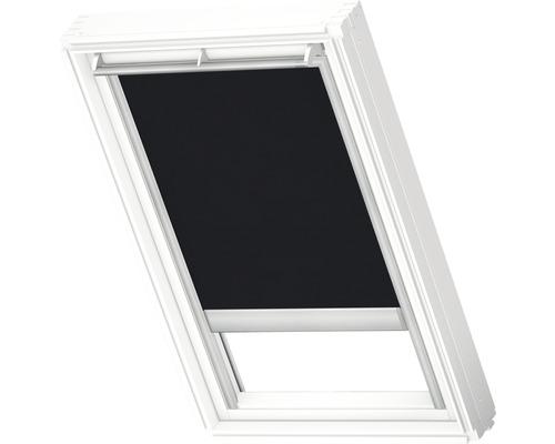 Velux Tageslichtrollo solarbetrieben schwarz uni RSL CK04 4069SWL