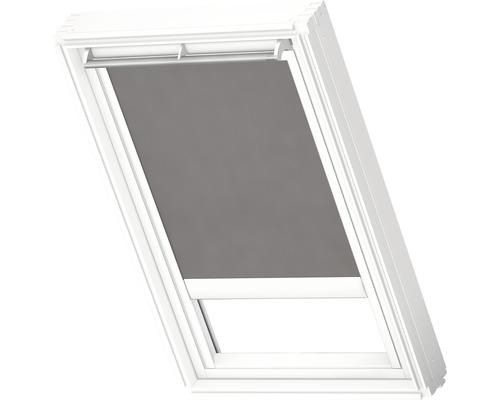 Velux Tageslichtrollo solarbetrieben grau uni RSL CK02 4161SWL