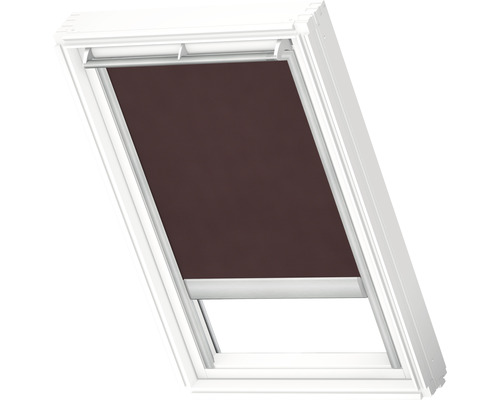 Velux Tageslichtrollo solarbetrieben dunkelbraun uni RSL P04 4162S
