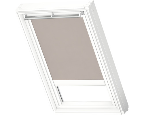 Velux Tageslichtrollo solarbetrieben hell-taupe uni RSL C02 4169SWL