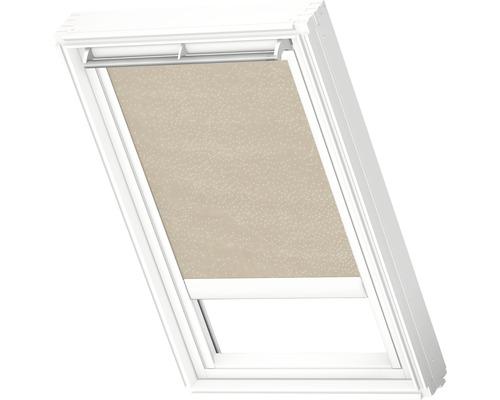 Velux Tageslichtrollo elektrisch sandbeige gepunktet RML C06 4171S