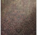 Vliestapete 87199-HOR Pure & Noble I Glasperle Diamond Cherry rot grau