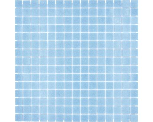 Glasmosaik GM A 37P für Poolbau blau/türkis 32,7x30,5 cm