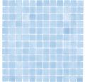 Glasmosaik VP501PAT für Poolbau blau 31,6x31,6 cm