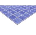 Glasmosaik VP508PUR für Poolbau blau 31,6x31,6 cm