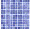 Glasmosaik VP508PAT für Poolbau blau 31,6x31,6 cm