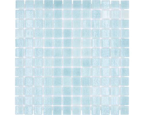 Glasmosaik VP503PUR für Poolbau grün 31,6x31,6 cm