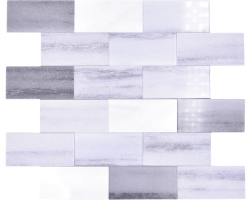 Vinyl Mosaik Selbstklebend SAM 5SW59 grau 28,8x29,4 cm