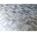 Metallmosaik Selbstklebend SAM 4MM15 aluminium 30x30 cm