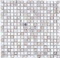 Glasmosaik XCM M680 Mix garu 30x30 cm
