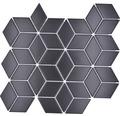 Keramikmosaik POV 05 schwarz matt 26,6x30,5 cm