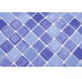 Glasmosaik VP1158PAT für Poolbau blau 31,6x31,6 cm