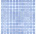Glasmosaik VP110PUR für Poolbau blau 31,6x31,6 cm