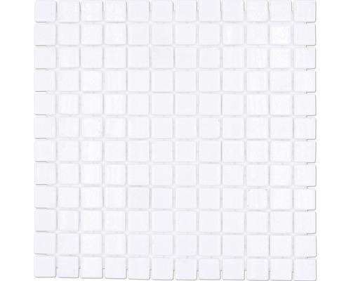 Glasmosaik VP100PAT für Poolbau weiß 31,6x31,6 cm