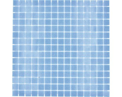 Glasmosaik GM A 31P für Poolbau blau 32,7x30,5 cm