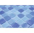 Glasmosaik GM A 339P für Poolbau blau 32,7x30,5 cm