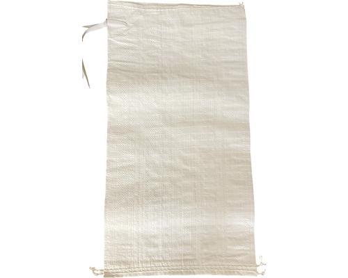 PP Gewebesack 60 x 30 cm weiß inkl. Bindeband (Bund = 1000 Stk)