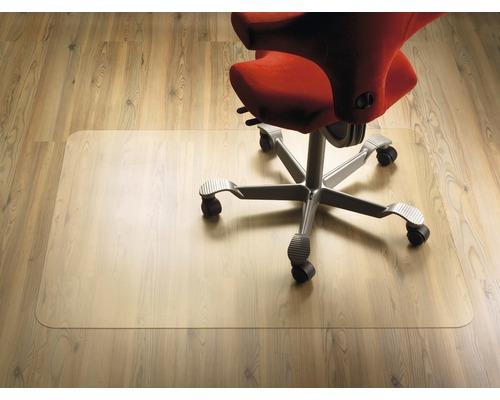PET Bodenschutzmatte Schreibtischstuhlunterlage transparent 40x60 cm