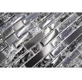 Glasmosaik Crystal mit Naturstein XIC V1328 schwarz 29,8x30,5 cm
